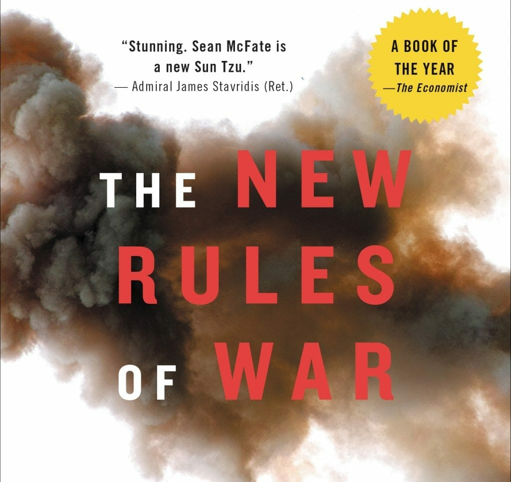 The New Rules of War, Sean McFate's book