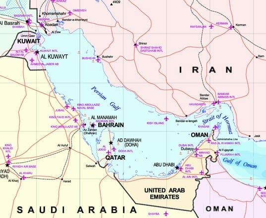 about_persian_gulf_map